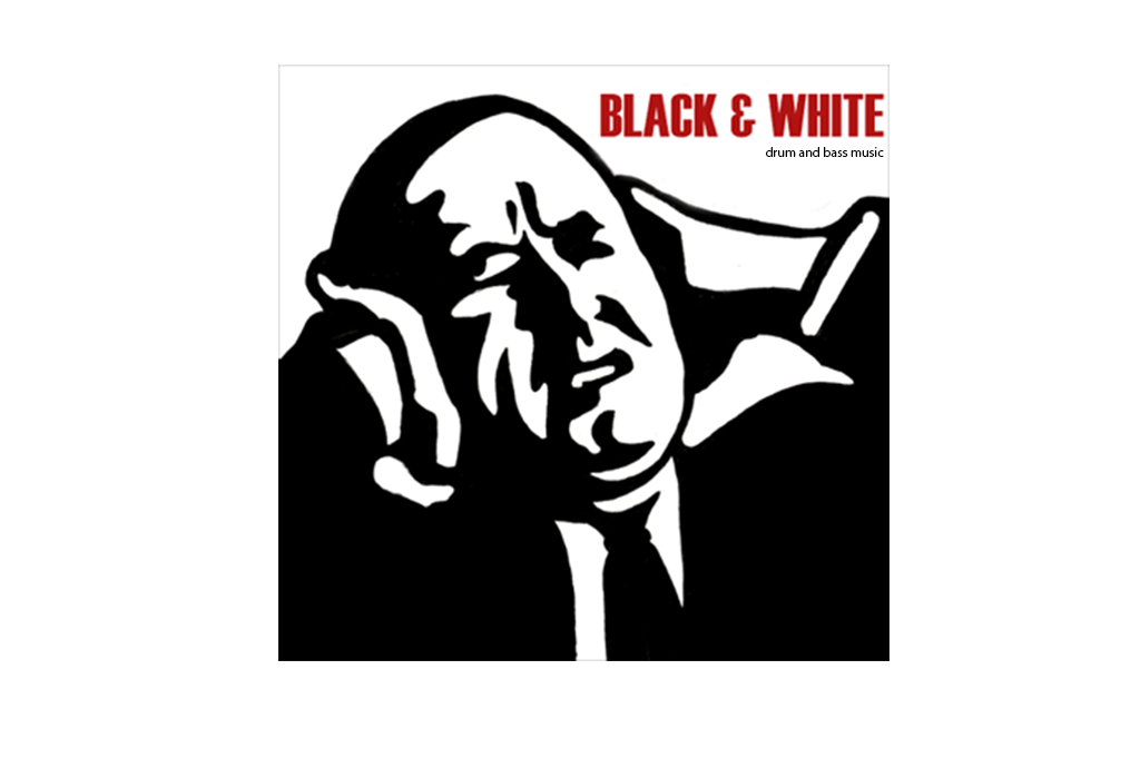 Black and White ° Gestaltung eines CD Covers