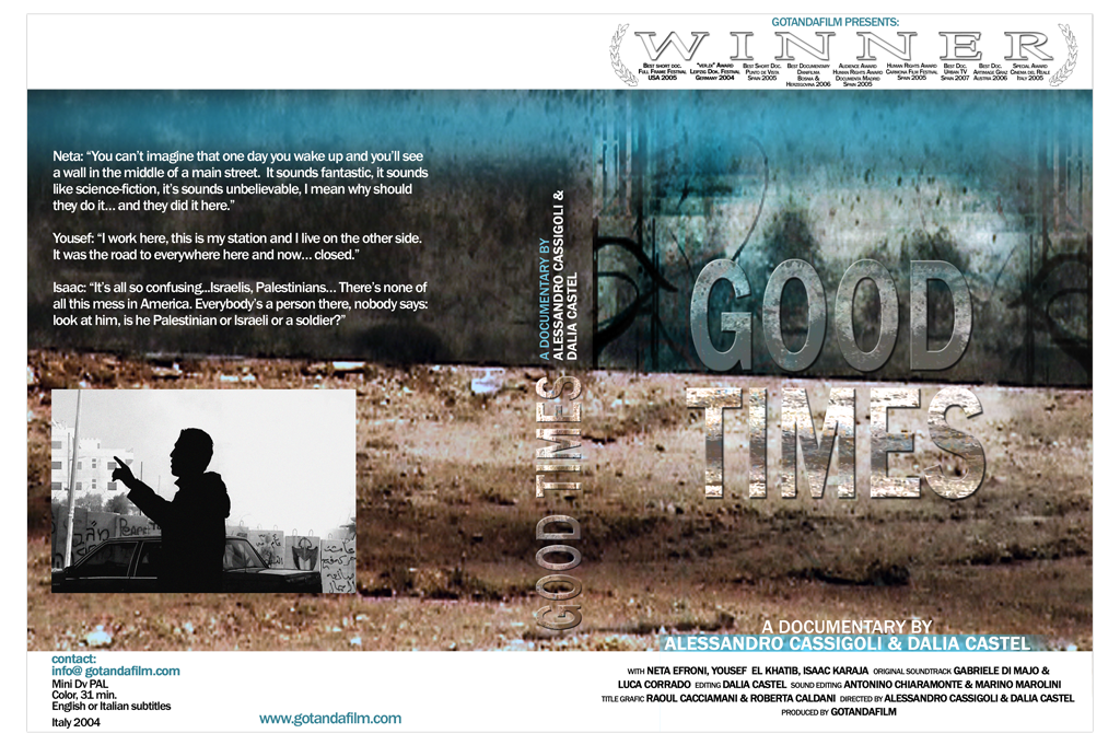 GOOD TIMES ° Film DVD Covergestaltung