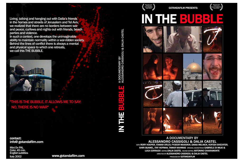 IN THE BUBBLE ° Film DVD Covergestaltung